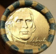 Buy GEM UNC ROLL 2006-P JEFFERSON NICKELS~FREE SHIP~LIKE THE DAY THEY WERE MINTED~