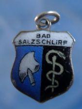Buy BAD SALZSCHLIRF Enamel & 800 Silver Travel Shield Souvenir Charm