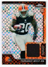 Buy NFL 2014 TOPPS CHROME TERRANCE WEST JERSEY X FRACTOR /99 MNT