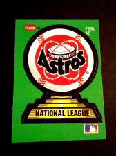 Buy VINTAGE HOUSTON ASTROS FLEER BASEBALL COLLOECTERS STICKER GD-VG