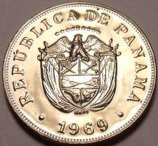 Buy Rare Proof Panama 1969 5 Centesimos~Only 14,000 Minted~Fantastic~Free Shipping