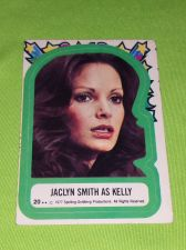 Buy VINTAGE 1977 CHARLIES ANGELS TELEVISION SERIES COLLECTORS STICKER CARD #20 GD-VG