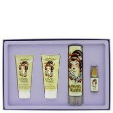 Buy Love & Luck by Christian Audigier Gift Set -- 3.4 oz Eau De Parfum Spray + 3 oz Body