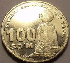Buy Unc Uzbekistan 2009 100 Som~Tashkent, 2200th Anniversary of Settlement~Free Shi*
