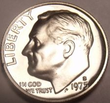 Buy United States Proof 1975-S Roosevelt Dime~See Why Proofs Are Best~Free Shipping