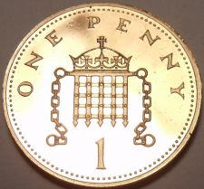 Buy Cameo Proof Great Britain 1997 Penny~Crowned Portcullis~Proofs Are Best~Free Shi