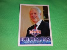 Buy 2016 Presidential INFLUENCERS Bill Clinton Collectible Card Mnt