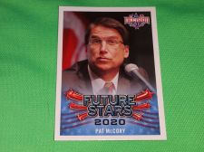 Buy 2016 Presidential Decision Governor Pat McCrory Future Star Collectible Card