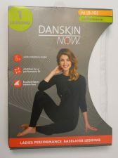 Buy Danskin Now White Ladies Performance Baselayer Leggings Size M 8-10 Tagless