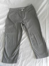 Buy Womens Old Navy Classic Rise Stretch Capri Pants Size 8 Gray