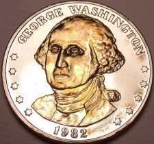 Buy Historic Mint Double Eagle George Washington Commemorative Medallion~Free Ship