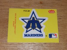 Buy VINTAGE Seattle Mariners 1986 FLLER LIMITED EDITION STICKERS NMNT-MNT