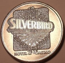 Buy MASSIVE SILVER BIRD CASINO FREE PLAY TOKEN~GREAT PRICE~