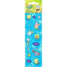 Buy SpongeBob Squarepants 16 Count Stickers Sixteen Sheets Per Pack