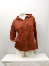 Buy NorthCrest Women's Hoodie Size S Port Paisley Long Sleeves Full Zip Front Pocket