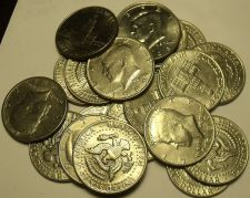 Buy United States Roll (20 Coins) Circulated Kennedy Half Dollars Mixed Dates~Fr/Shi