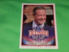 Buy 2016 Presidential Decision Senator Martin O'Malley Collectible trading card