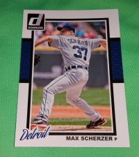 Buy MLB Max Scherzer Tigers SUPERSTAR 2014 DONRUSS BASEBALL GEM MNT