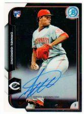 Buy MLB 2015 BOWMAN CHROME DANIEL CORCINO AUTO RC MNT