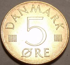 Buy Unc Denmark 1977-H 5 Ore~Margrethe II~Excellent~Free Shipping