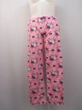 Buy SIZE 8 10 Womns Pajama Bottoms HELLO KITTY Micro Fleece Sleepwear Pink Print