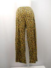Buy SIZE 20 Womens Pajama Bottoms MICRO FLEECE Animal Print Sleepwear Straight Legs