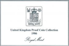 Buy 1986 Great Britain 8 Coin 2 Page C.O.A. Document Set~Free Shipping