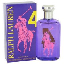 Buy Big Pony Purple 4 by Ralph Lauren Eau De Toilette Spray 3.4 oz (Women)