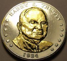 Buy Historic Mint Double Eagle Harry S. Truman Commemorative Medallion~Free Ship