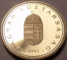 Buy Rare Proof Hungary 2003-BP Forint~Only 7,000 Minted~Minted In Budapest~Free Ship