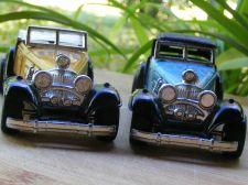 Buy TWO (2) MERCEDES BENZ 540k DIE CAST CARS