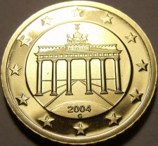 Buy Cameo Proof Germany 2004-G Ten Euro Cents~Karlsruhe Mint~Cameo~Free Shipping~