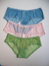 Buy A0069BB Gilly Hicks by Abercrombie NEW Plum Floral Lace Chiffon Boy Bikini PR
