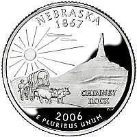 Buy 2006-D NEBRASKA GEM BRILLIANT UNCIRCULATED STATE QUARTER~FREE SHIPPING INCLUDED~