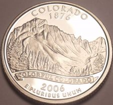 Buy Gem Cameo Proof 2006-S Colorado State Quarter~See All Our State Quarters~Free Sh