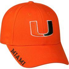 Buy NCAA Miami Hurricanes Alt Color Cap Hat