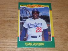 Buy VINTAGE Pedro Guerrero Dodgers 1986 FLLER LIMITED EDITION GLOSSY NMNT-MNT