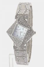 Buy Zigzag Patterned Xanadu Women's Crystal Fashion Watch