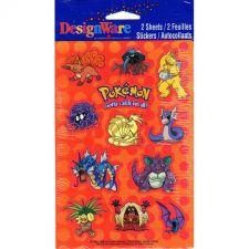 Buy DesignWare Pokemon Stickers 2 Sheets 24 Stickers per Pack