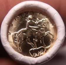 Buy Gem Unc Original Roll (50) Bulgaria 2000 1 Stotinka~Madara Horseman~Free Ship