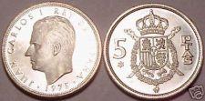 Buy PROOF SPAIN 1975(77) 5 PESETAS~GREAT PRICE~~FREE SHIP~~