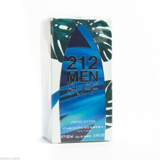 Buy Carolina Herrera 212 MEN SURF EDT 100ml 3.4oz Eau de Toilette NEW 100% Original