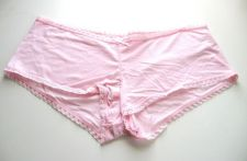 Buy A340BS Enchanting NEW Women's Lace Picot Opentings Stretch Pure Modal Boyshorts
