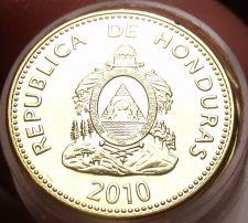 Buy Gem Unc Roll (40 Coins) Honduras 2010 5 Centavo Coins~Brass~Free Shipping