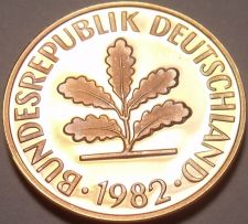 Buy Gem Cameo Proof Germany 1982-D Pfennig~Minted In Munich~78,000 Minted~Free Ship