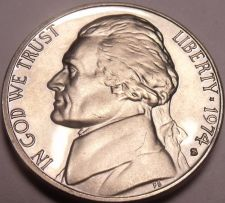 Buy United States Proof 1974-S Jefferson Nickel~We Have Jeffersons~Free Shipping