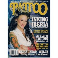 Buy Tattoo Magazine April 2009 LOW BID