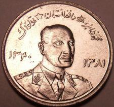 Buy Large Gem Unc Afghanistan 1961 5 Afghani~Rular Muhammed Zahir Shah~Free Shipping