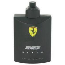 Buy Ferrari Scuderia Black by Ferrari Eau De Toilette Spray (Tester) 4.2 oz (Men)