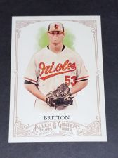 Buy MLB 2012 TOPPS ALLEN & GINTER ZACH BRITTON ORIOLS SUPERSTAR #63 GD-VG